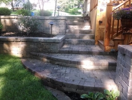 Steps and walls